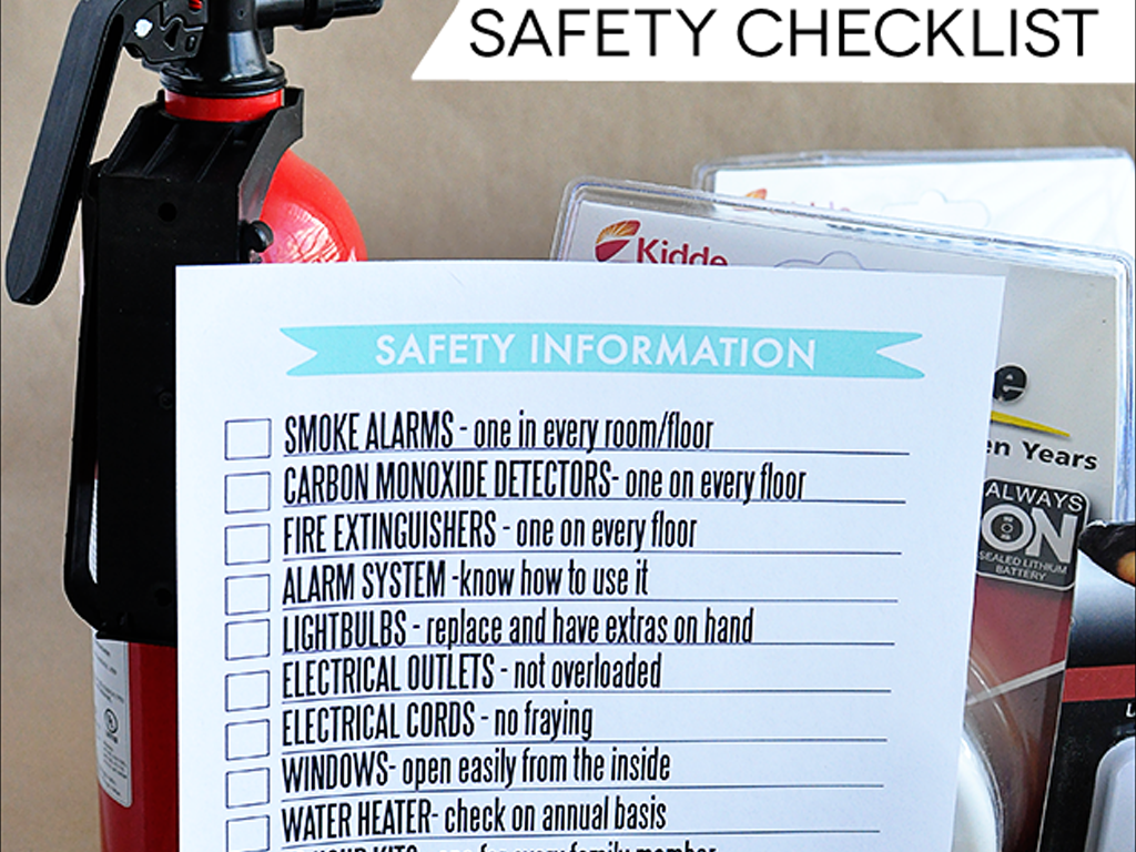 Fire risk assment checklist